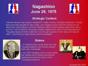 Nagashino June 29 1575 Strategic Context Takeda Katsuyori