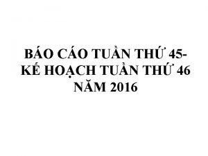 BO CO TUN TH 45 K HOCH TUN