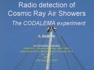 Radio detection of Cosmic Ray Air Showers The