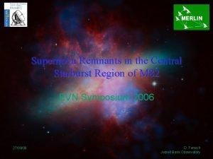 Supernova Remnants in the Central Starburst Region of