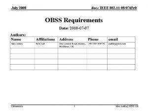 July 2008 doc IEEE 802 11 080765 r