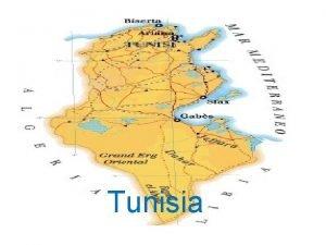 Tunisia 1 Lindipendenza Ottenne lindipendenza dal protettorato francese