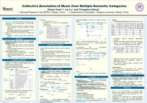 Collective Annotation of Music from Multiple Semantic Categories