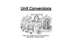 Unit Conversions II 1 UNIT CONVERSIONS This is