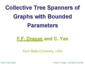 Collective Tree Spanners of Graphs with Bounded Parameters