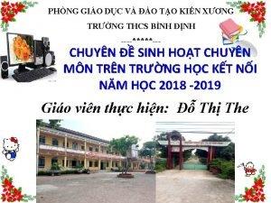 PHNG GIO DC V O TO KIN XNG