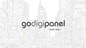 ideally smart Introducing the Go Digipanel Our solution