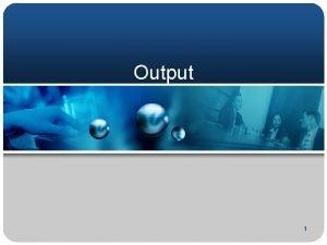 Output 1 er 5 pt ha C Output