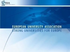 Quality assurance and quality culture in the EHEA