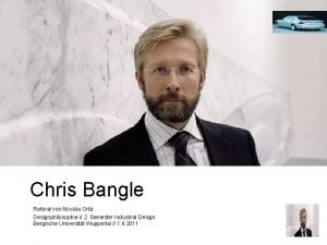 Chris Bangle Referat von Nicols Ortiz Designphilosophie 2