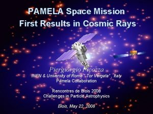 PAMELA Space Mission First Results in Cosmic Rays