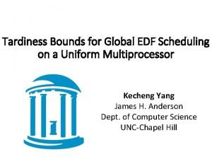 Tardiness Bounds for Global EDF Scheduling on a