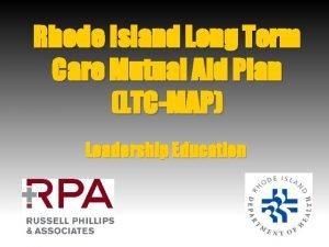 Rhode Island Long Term Care Mutual Aid Plan