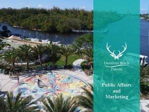 Public Affairs and Marketing Public Affairs and Marketing