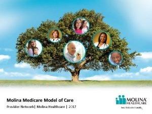 Molina Medicare Model of Care Provider Network Molina