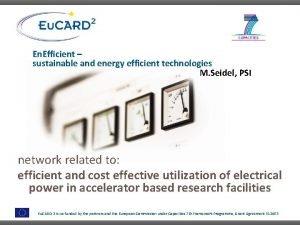 En Efficient sustainable and energy efficient technologies M
