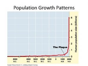 Population Growth Patterns Population Size Factors Population sizes