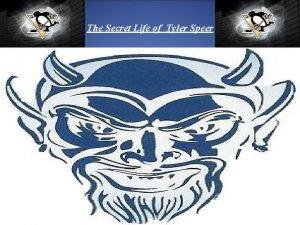 The Secret Life of Tyler Speer As my