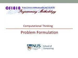 http www comp nus edu sgcs 1010 Computational