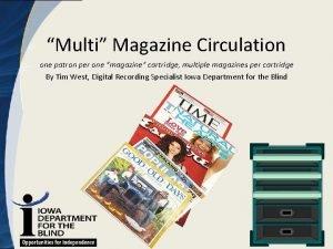 Multi Magazine Circulation one patron per one magazine
