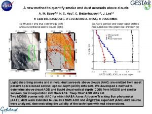 A new method to quantify smoke and dust