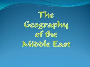 The Middle East Today Political Map Middle East