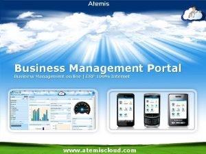 Business Management Portal Business Management on line ERP