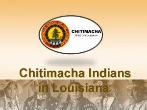 Chitimacha Indians in Louisiana Chitimacha In Charenton Louisiana