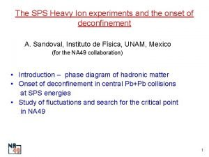 The SPS Heavy Ion experiments and the onset