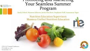 Promoting and Marketing Your Seamless Summer Program Sandy