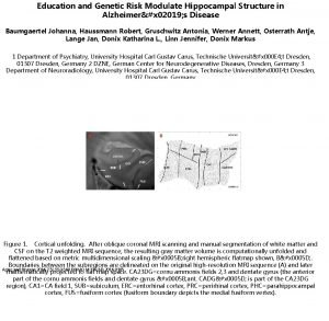 Education and Genetic Risk Modulate Hippocampal Structure in