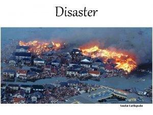 Disaster Sendai Earthquake Disaster oto LP tockph 2011