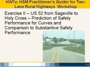 HW 7 a HSM Practitioners Guider for Two