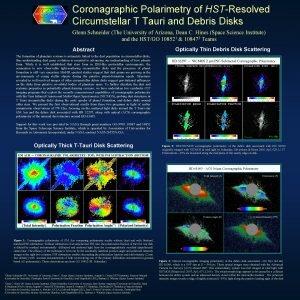 Coronagraphic Polarimetry of HSTResolved Circumstellar T Tauri and