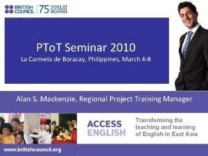 PTo T Seminar 2010 La Carmela de Boracay