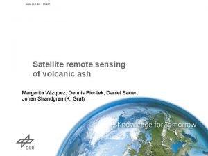 www DLR de Chart 1 Satellite remote sensing