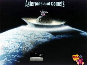 Asteroids are balls of rock a few feet