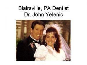 Blairsville PA Dentist Dr John Yelenic Murder Victim