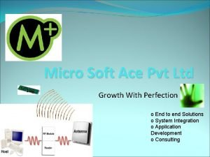 Micro Soft Ace Pvt Ltd Tag Growth With