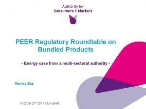 PEER Regulatory Roundtable on Bundled Products Energy case