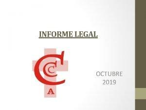 INFORME LEGAL OCTUBRE 2019 ALCANCES SOBRE POLTICA REMUNERATIVA