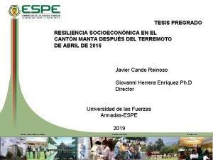 TESIS PREGRADO RESILIENCIA SOCIOECONMICA EN EL CANTN MANTA