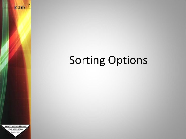 Sorting Options Search Preferences What Search Preferences allow