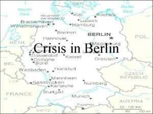 Crisis in Berlin West Capitalism Federal Republic of