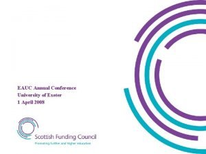 Andrew Chamberlain Property Capital Funding EAUC Annual Conference