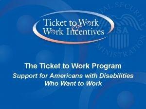 Choose Fulfillment Choose Earnings Choose Work The Ticket