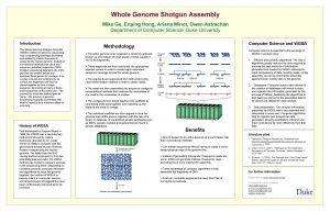 Whole Genome Shotgun Assembly Mike Ge Enping Hong