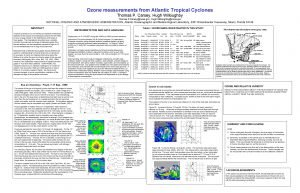 Ozone measurements from Atlantic Tropical Cyclones Thomas P