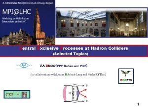Central Exclusive Processes at Hadron Colliders Selected Topics