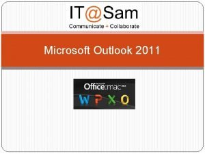Microsoft Outlook 2011 Ribbon Features Tabs shown change